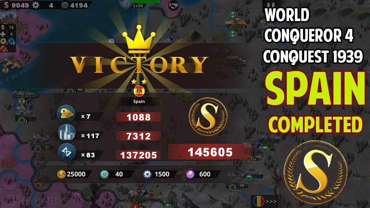 [WC4] Spain 1939 Conquest Final Gameplay