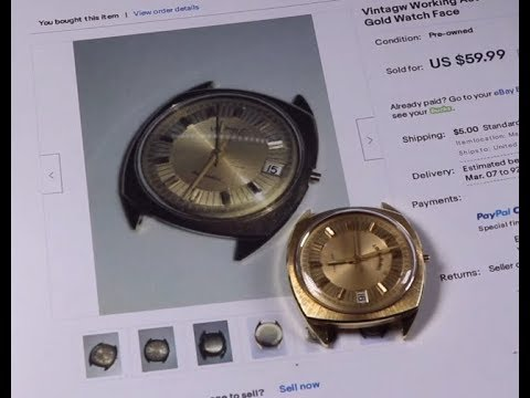 IS IT REAL??? eBay Solid Gold Watch + Gold Rings Unboxing Thrift Hunter Finds #173