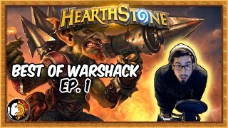 Hearthstone: Warshack Funny & Lucky Moments (Ep. 1)