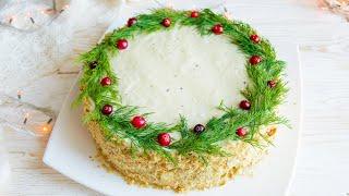 Никто НЕ ОТКАЖЕТСЯ попробовать этот Закусочный Торт НАПОЛЕОН Новогоднее Меню 2020