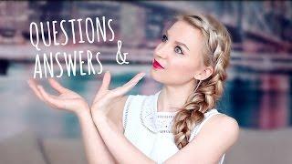 #5 ✐ Вопрос|Ответ Языки, еда, мода, как я все успеваю?!