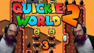 I BROKE THE GAME, WTF! - Quickie World 2 - Super Mario World ROM Hacks with Oshikorosu. [3]
