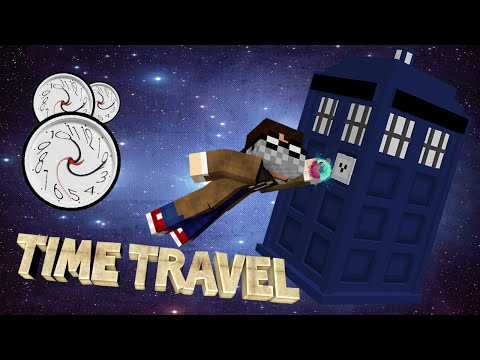 Minecraft: Dr. Who Mod | TARDIS TIME TRAVEL THROUGH MINECRAFT HISTORY! (with Facecam)