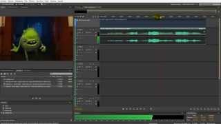 Tutorial doblaje con video en Audition