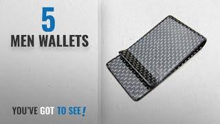 Element Wallets [ Winter 2018 ]: Carbon Fiber Money Clip - Black Gloss with Silver