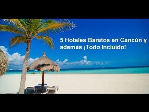 5 Hoteles Baratos en Cancún y además ¡Todo Incluido!