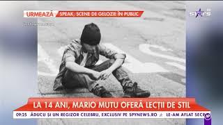 """Mario Mutu și Ianis Hagi, lecții de stil de la viitorii """"Don Juani"""" ai showbizului"""