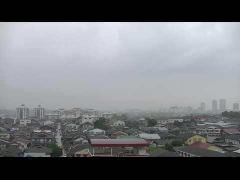 ASMR? Thunderstorm! Petaling Jaya, 6pm Sunday 16 April 2017