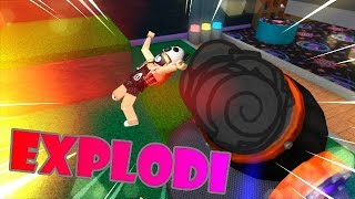 EXPLODI IN A BOMB 😱😂 | ROBLOX Super Bomb Survival!
