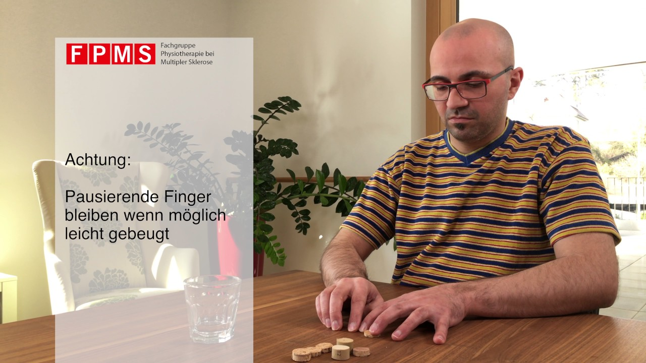Physiotherapie-Übung: «Fingertippen»