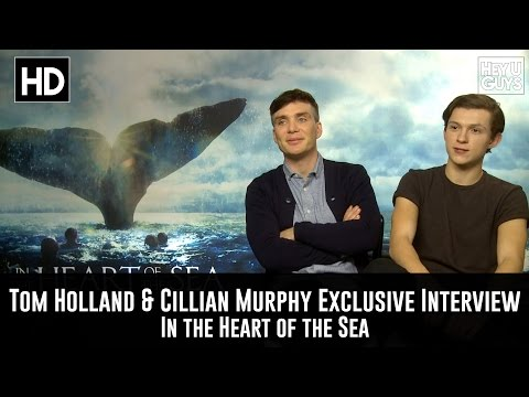 Cillian Murphy & Tom Holland - In the Heart of the Sea Exclusive Movie Interview