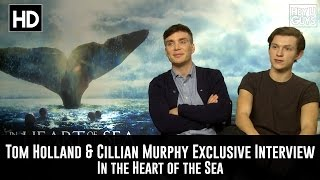 Cillian Murphy amp Tom Holland - In the Heart of the Sea Exclusive Movie Interview