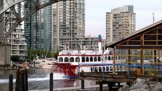 Колесный пароход в Ванкувере. Old boat in Vancouver.(, 2011-05-21T12:11:38.000Z)