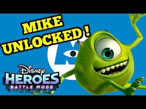 MIKE UNLOCKED !   - Disney Heroes: Battle Mode