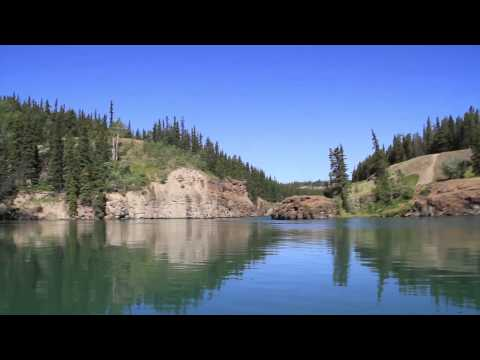 Boating Miles Canyon and the Yukon River