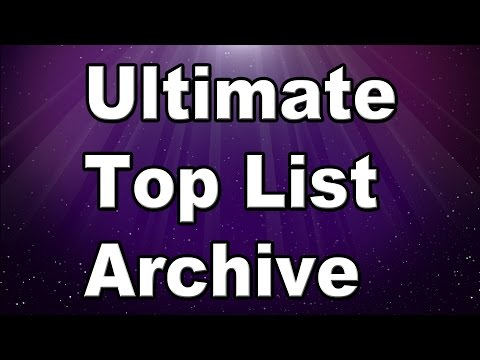 Ultimate Top List Archive