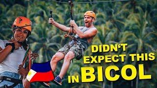 BICOL LONGEST ZIPLINE - afraid of heights, did she do it? - Philippines Vlog