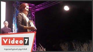 تكريم إيناس الشيخ ورانيا سعد الدين فى مسابقة ملكة جمال المحجبات