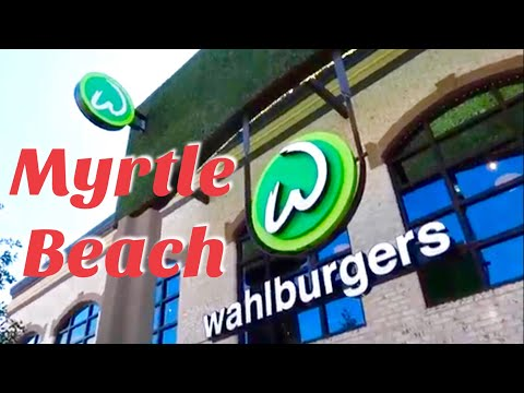 Wahlburgers MYRTLE BEACH At Broadway At The Beach | Restaurants