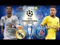 FIFA 18 | Real Madrid vs Paris Saint Germain ( PSG ) |Champions League 2017/18 | Prediction Gameplay