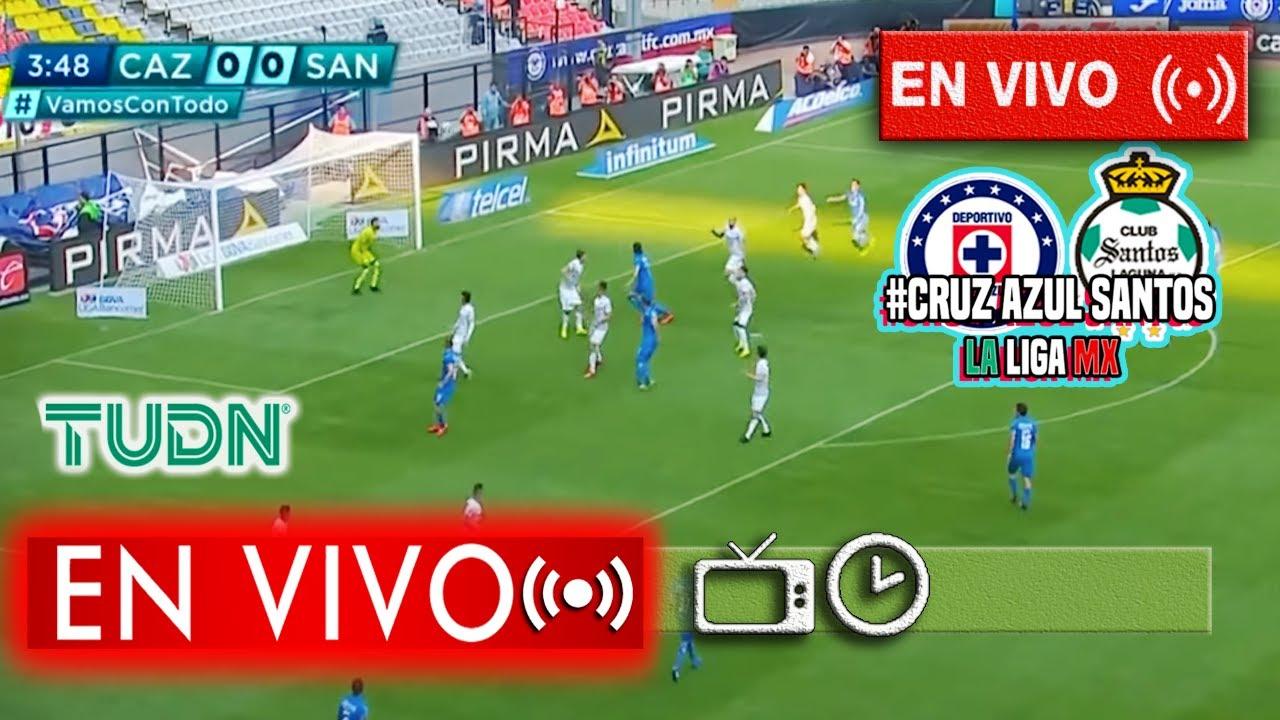 En Vivo: Cruz Azul vs Santos En Vivo | 📺 TUDN Jornada 1 ...