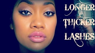 How To Make Your Eyelashes Longer & Thicker! Thumbnail