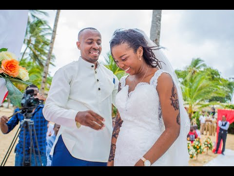 HAMISI+JEDIDAH WEDDING  TRAILER- MALINDI, KENYA
