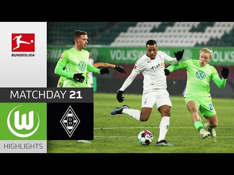 Wolfsburg Borussia Moenchengladbach Goals And Highlights