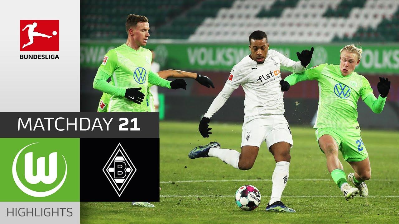 Download VfL Wolfsburg - Borussia M'gladbach | Highlights | Matchday 21 – Bundesliga 2020/21