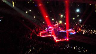 Coldplay - Up In Flames (Live @ FRANKFURT: Coldplay European Tour) HD
