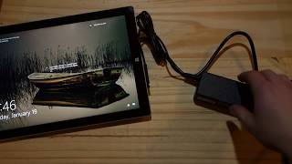 Surface Pro 3/4 $12.99 Power Adapter - Unboxing and Initial Impressions