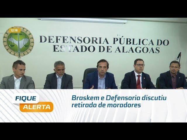 Braskem e Defensoria discutiram retirada de moradores do Mutange