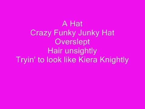 Crazy Funky Hat Lyrics
