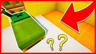 Minecraft - Como hacer una Cama Creeper Secreta que nadie conoce...