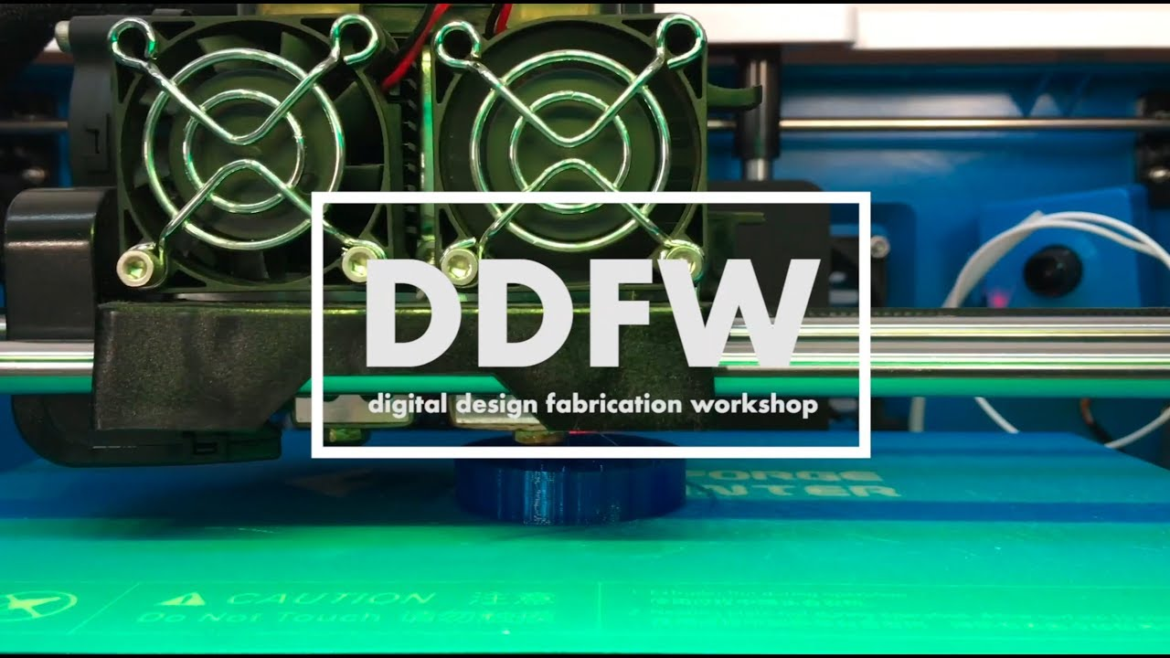 The Digital Design Fabrication Workshop (DDFW)