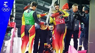 Luge | Team Relay Highlights | Pyeongchang 2018 | Eurosport