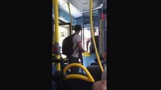 Cashless London bus drama
