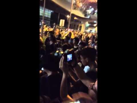 Democracy , Hong Kong , Human Right , September 2015 , yellow umbrella  part1
