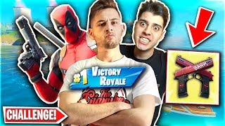 ΝΙΚΗΣΑΜΕ ΣΤΟ DEADPOOL CHALLENGE! (Fortnite Greek)