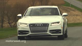 Audi S7 Sportback 2013 Videos