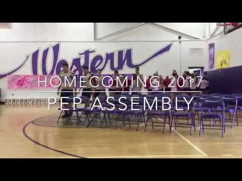 2017 WB Homecoming Pep Assembly