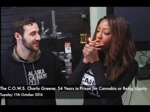The C.O.W.S  Charlo Greene: 54 Years in Prison for Cannabis or Being Uppity