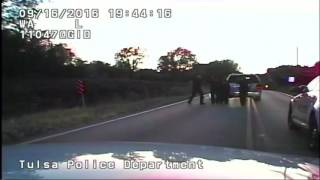 GRAPHIC VIDEO: Tulsa police officer kills unarmed black man