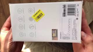 Розпакування Електробритви Xiaomi Mijia Electric Shaver