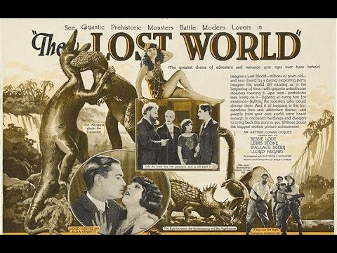 The Lost World Full Movie | Old Hollywood Adventure Movies |Black & White English Silent Full Movies