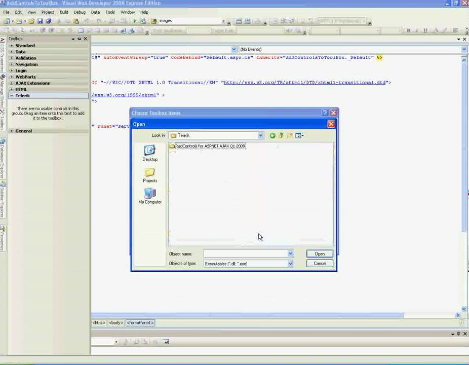 how to add crystal report in visual studio 2010 express