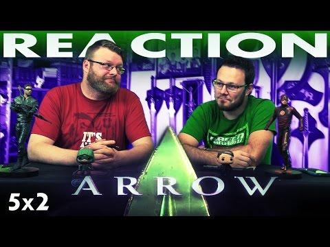 """Arrow 5x2 REACTION!! """"The Recruits"""""""