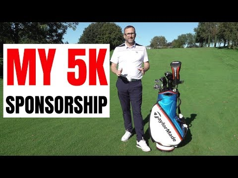 MY NEW GOLF CLUBS AND MY 5K SPONSORSHIP - GOFMATES