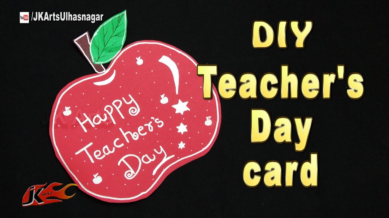 How To Make Simple Teachers Day Greeting Cards