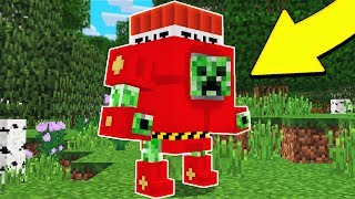 MEGA CREEPERS IN MINECRAFT!